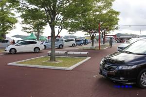 自動車の展示