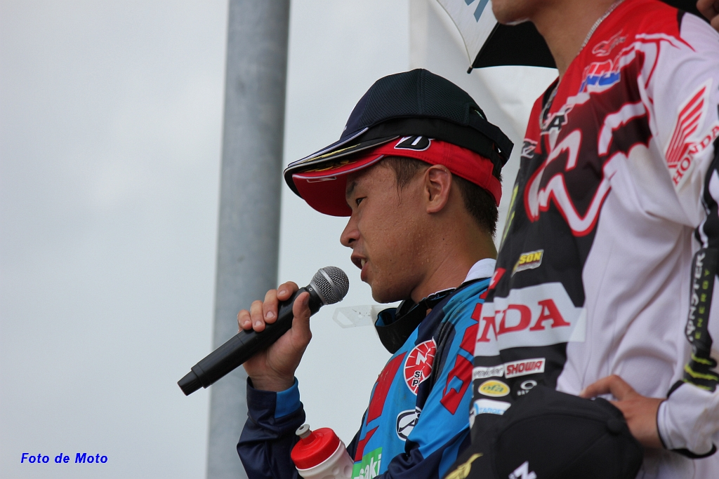 2nd place for Arai.