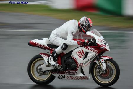 J-GP2 #634 MuSASHi RT ハルクプロ 浦本 修充 Uramoto Naomichi Honda CBR600HP6
