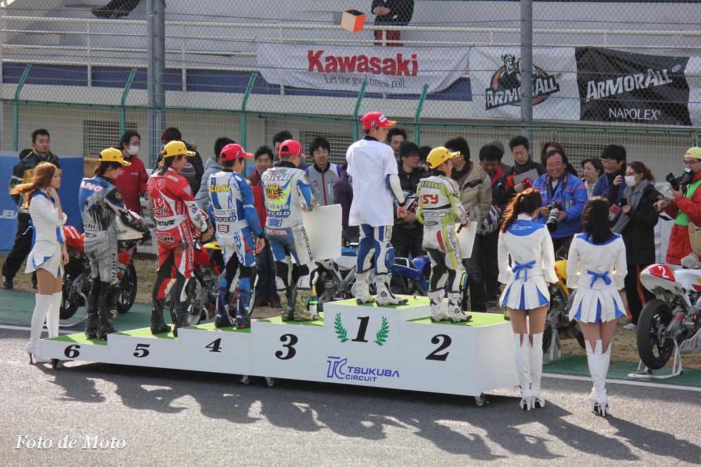 J-GP3 表彰台