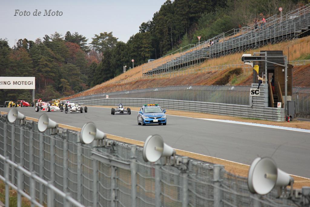 lap 1 - 3はペースカー先導