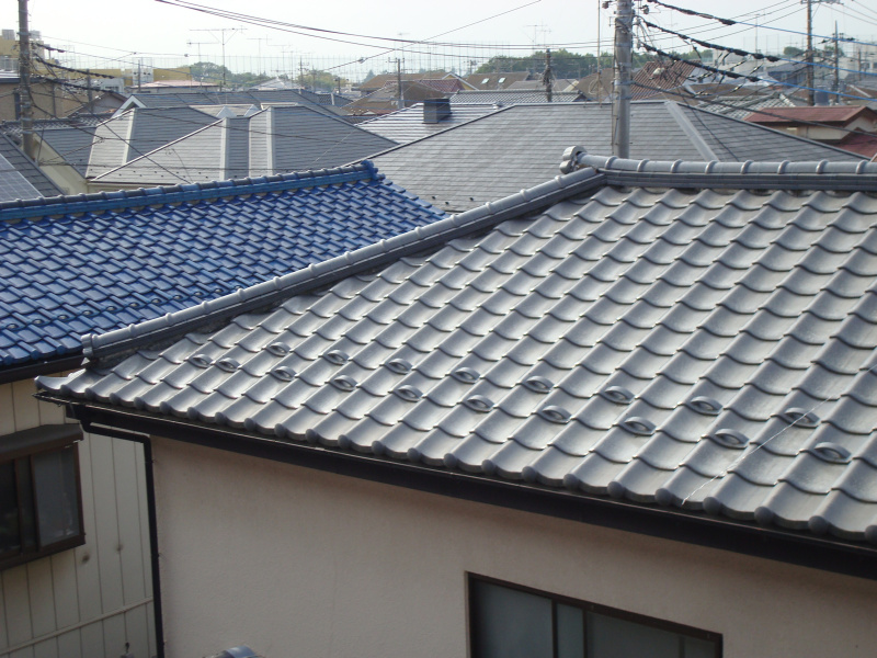 There are many color variation for roof tiles