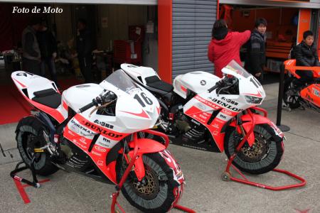 ST600 #16 赤い3輪車レーシングチーム 國川 浩道 CBR600RR