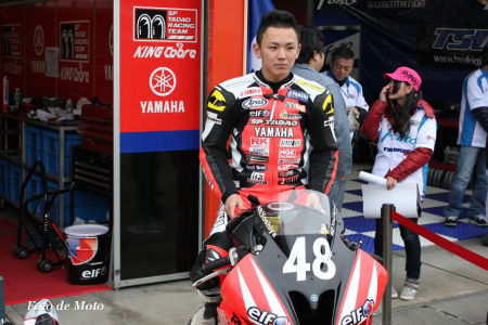 SP忠男レーシングチーム ST600 #48 中本 貴也 YZF-R6