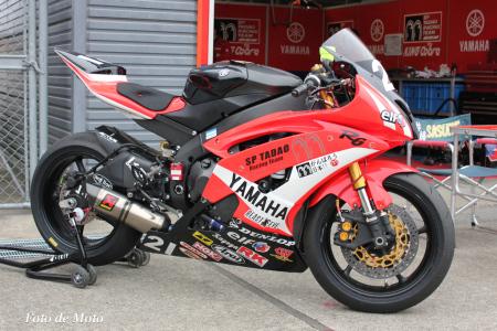 SP忠男レーシングチーム ST600 #21 篠崎 佐助 YZF-R6
