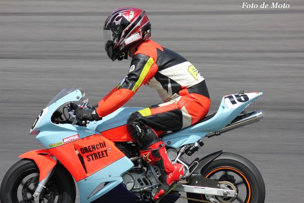 DE耐!クラス #16 Team オレンちストリート XR100M
