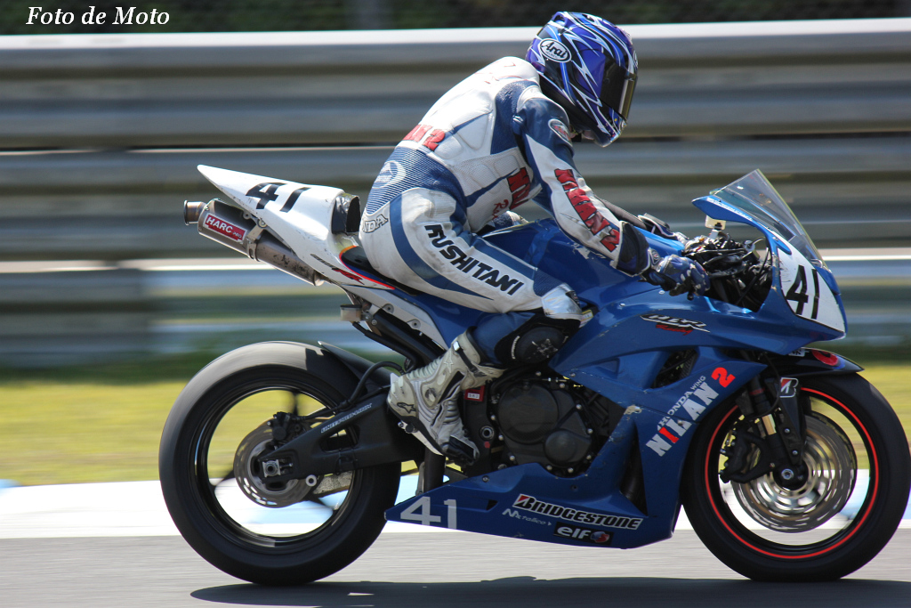 ST600 #41 NIHAN 2 Racing 高木 英治 Honda CBR600RR