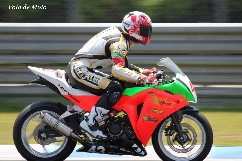 NEO STA CBR# 43 TEAM.WILD☆HEART 菊地 平 Honda CBR250R