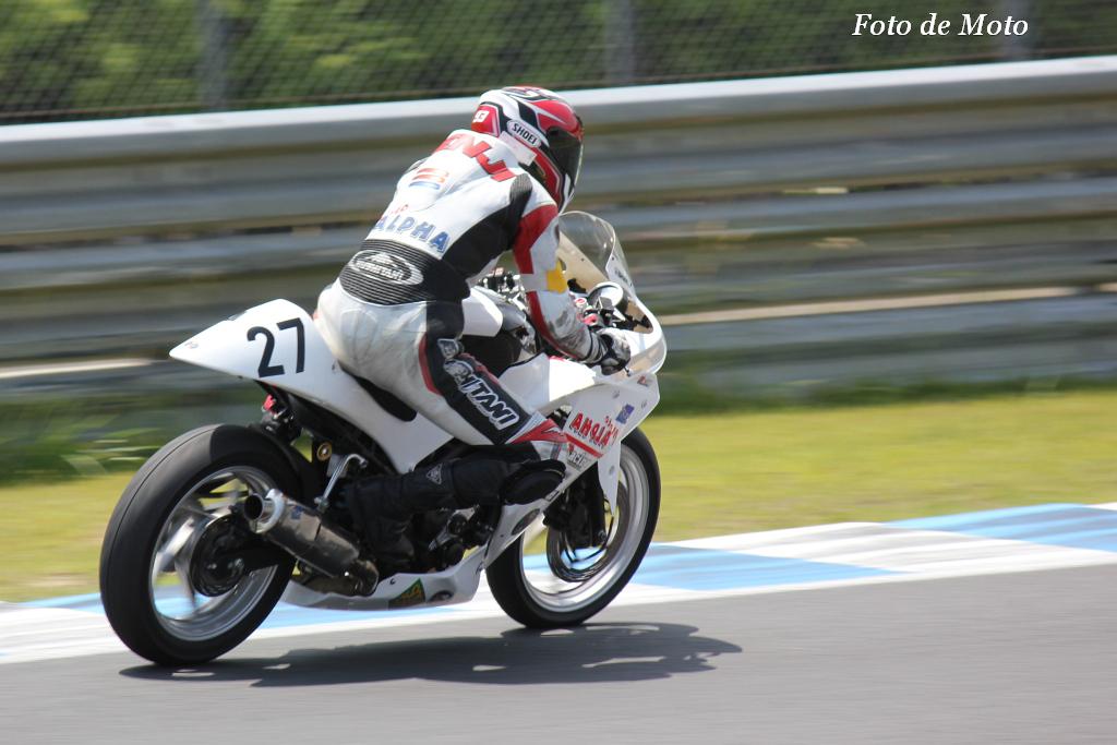 NEO STA CBR# 27 モトアルファ & チクビーズ 鈴木 健仁 Honda CBR250R