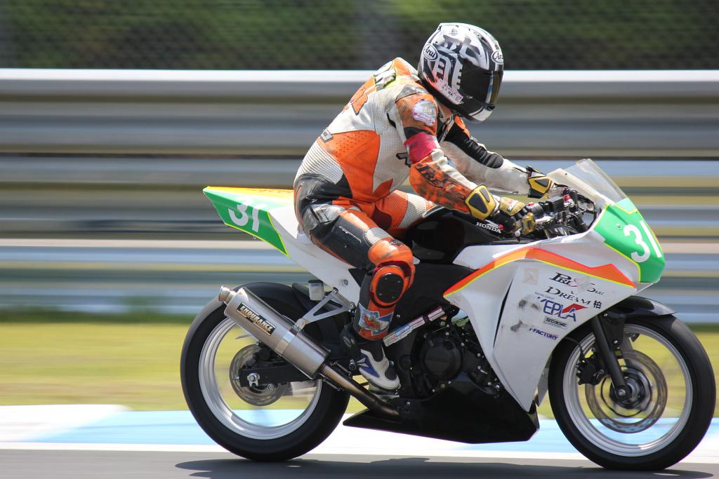NEO STA CBR# 31 PRESTO&DREAM柏 金子 裕希 日比谷道夫 Honda CBR250R