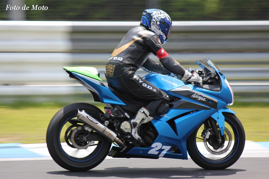 NEO STANDARD Ninja #27 Wiz-Kサテライト+NAGA 永岡 佑樹 KAWASAKI Ninja250R