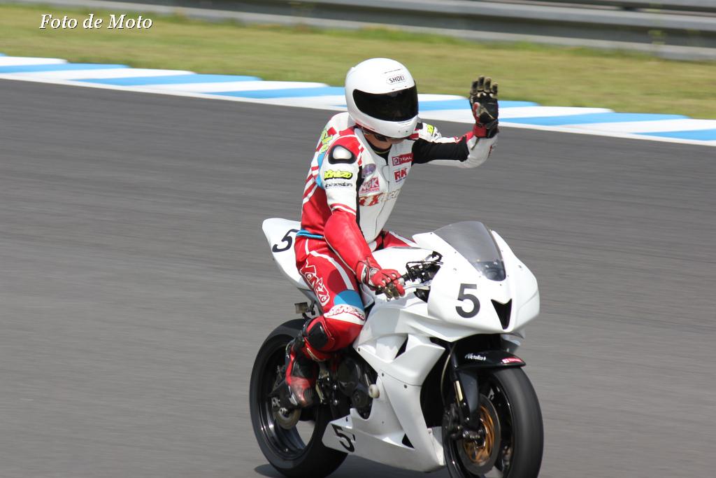 ST600 #5 H. K. FACTORY 五十嵐 大祐 Honda CBR600RR