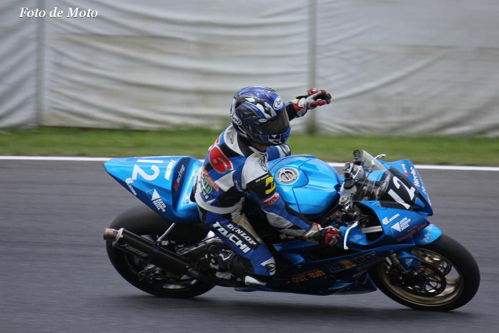 J-GP2 #12 レーシングチーム OutRun 中本 郡 Nakamto Gun YAMAHA YZF-R6