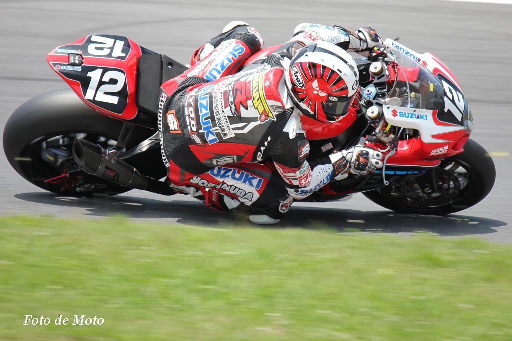 JSB1000 #12 ヨシムラスズキレーシングチーム 津田 拓也 Tsuda Takuya SUZUKI GSX-R1000