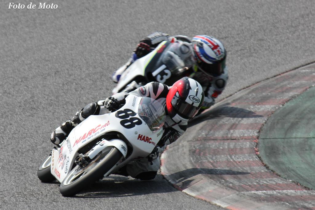 J-GP3 #88 CLUB HARC-PRO 水野 涼 Mizuno Ryo HONDA  NSF250R