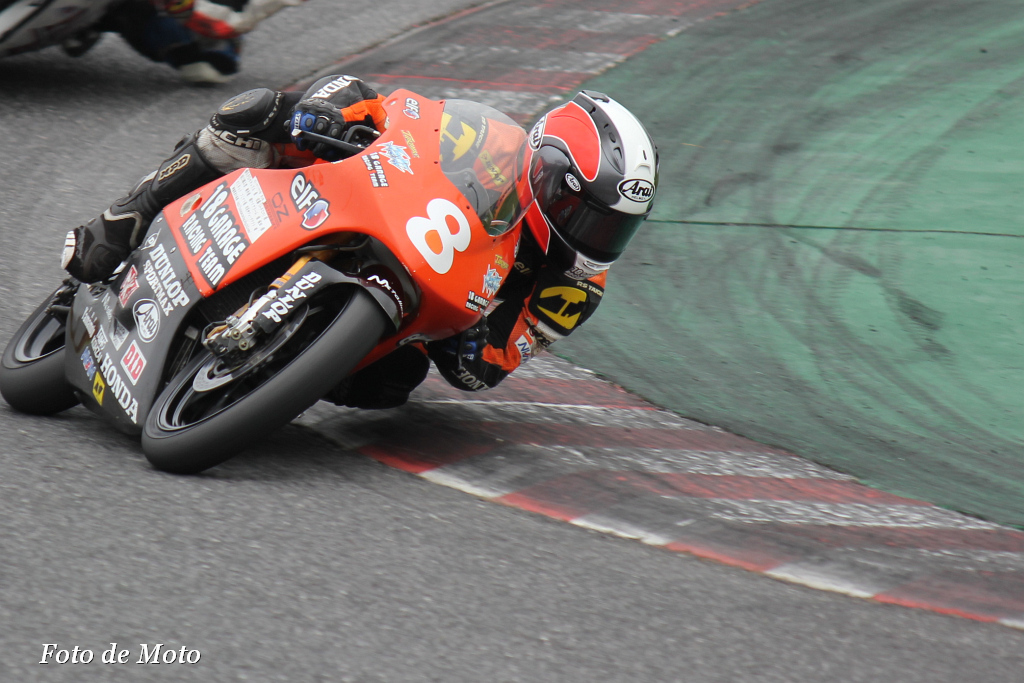 J-GP3 #8 18 GARAGE RACING TEAM 亀井 雄大 Kamei Yudai HONDA NSF250R