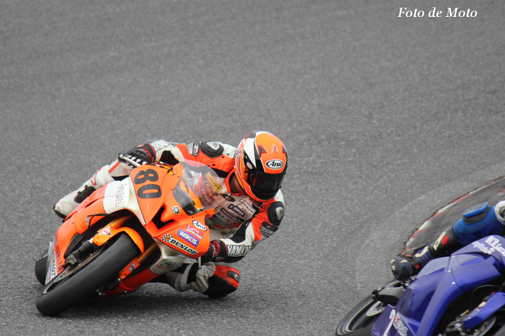 ST600 #80 DOG FIGHT RACING・YAMAHA 谷津 裕亮 YAMAHA YZF-R6