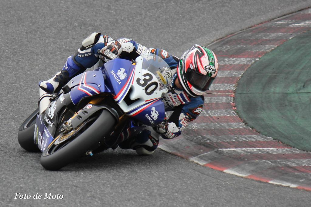 J-GP2 #30 Yamaha Thailand Racing Team DECHA KRAISART YAMAHA YZF-R6