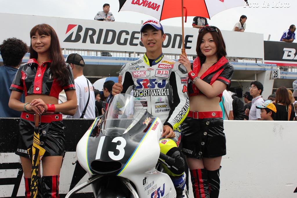 J-GP3 #13 SRSJwithMORIWAKI 佐野 優人 Sano Yuto MORIWAKI MD250GP3