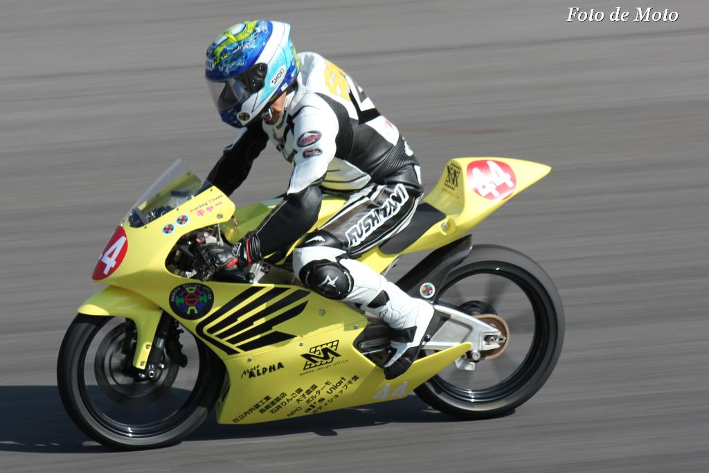 J-GP3 #44 チクビ-ズ チクビ-ズ チクビ-ズ 円谷 伸 Honda NSF250R