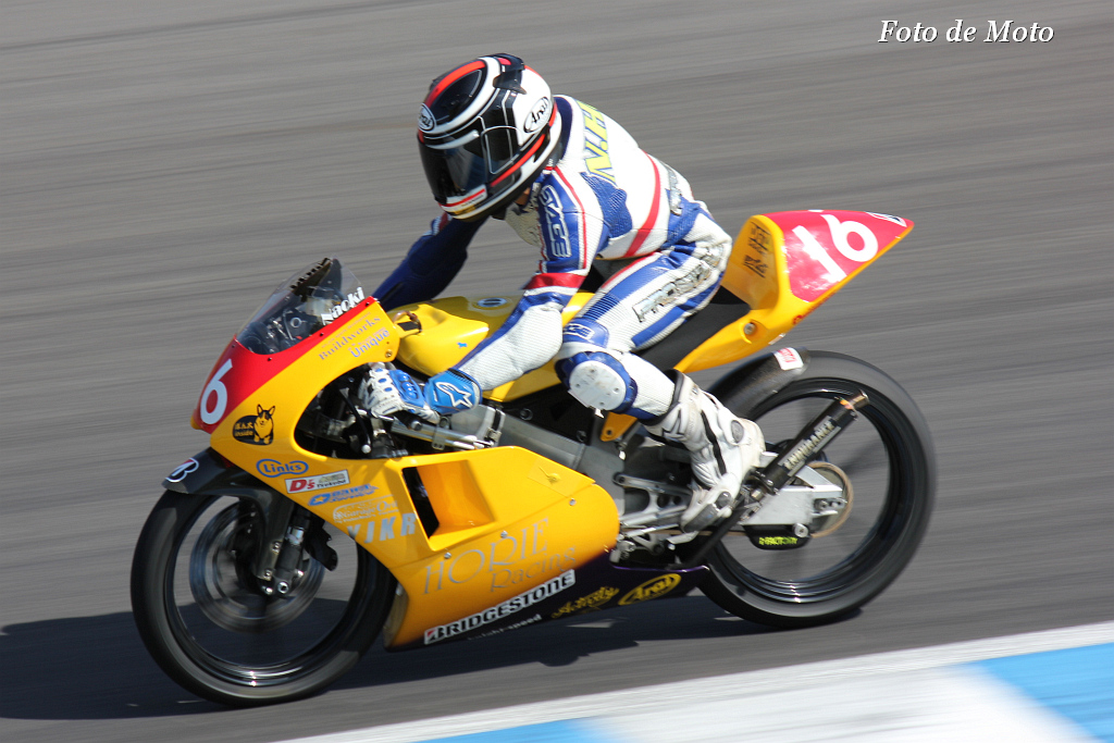 J-GP3 #16 HORIE レーシングwith YJKR 高崎 原 直樹 Honda RS125R