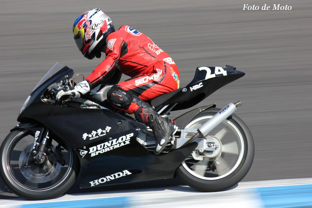 J-GP3 #24 チャウチャウ 鈴木 竜生 Honda RS125R