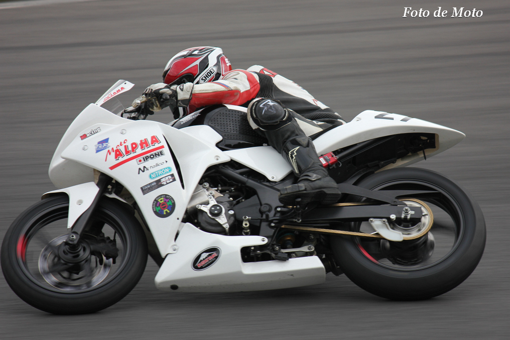 NEO STANDARD #27 モトアルファ&チクビーズ 鈴木 健仁 Honda CBR250R