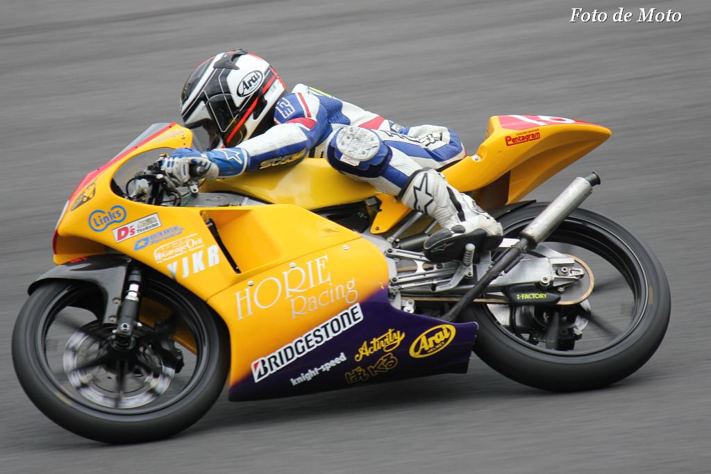 J-GP3インター #16 HORIE レーシングwithYJKR高崎 原 直樹 Honda RS125R