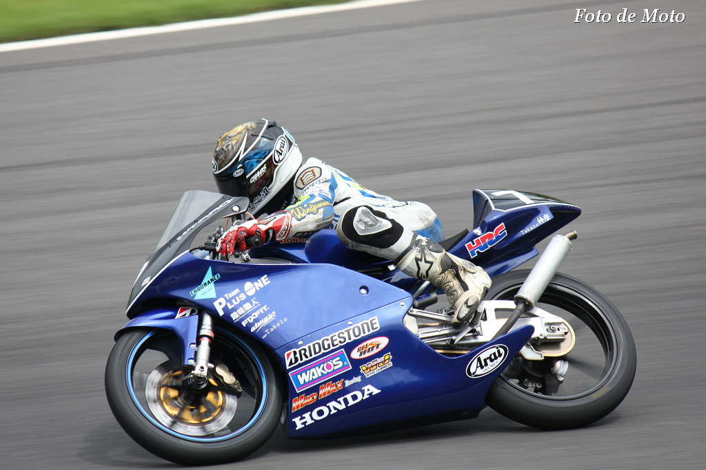 J-GP3 #7 Team TARO PLUS ONE 太田 虎之進 Honda RS125