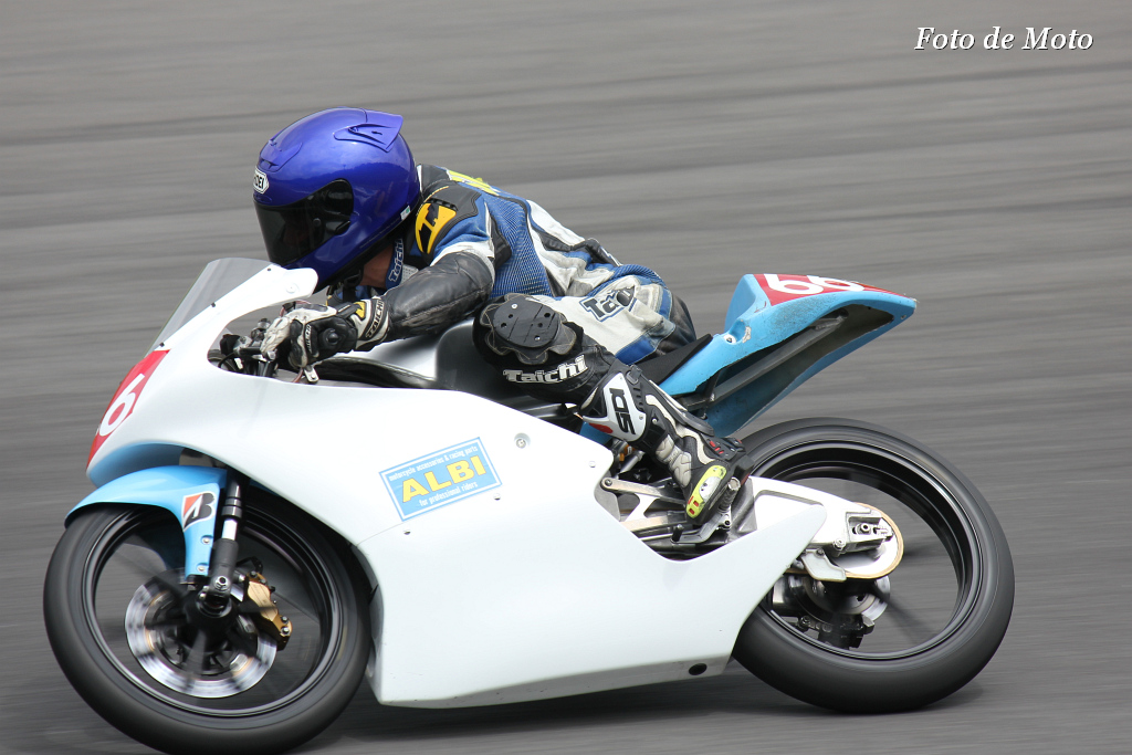 J-GP3 #66 ALBI SPEED 澁田 優太 Honda NSF250R