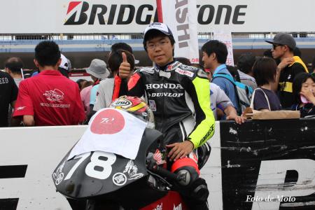 J-GP3 #78 HotRacing 大久保 光 Okubo Hikari