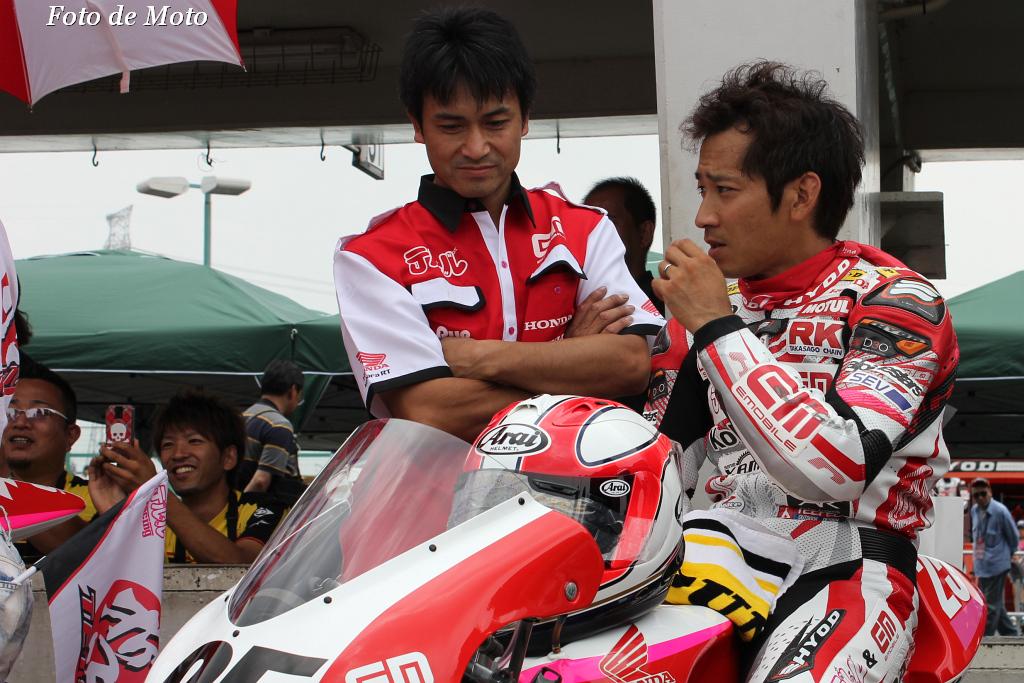 J-GP3 #25 テルル&EM★KoharaRT 小室 旭 Komuro Akira HONDA NSF250R