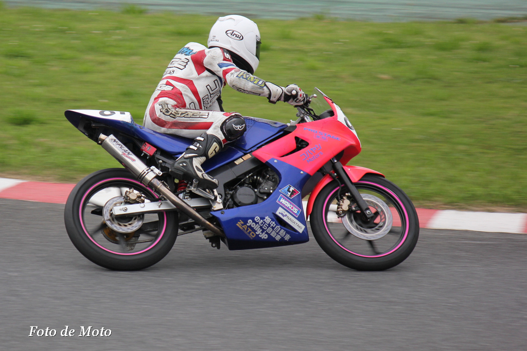 レディース #81 チームプロステージ女組 小林和枝 CBR150R