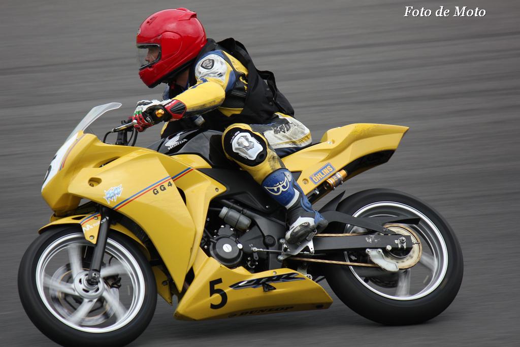 ST250 #5 GG4RACING 増山 庸夫 Honda CBR250R