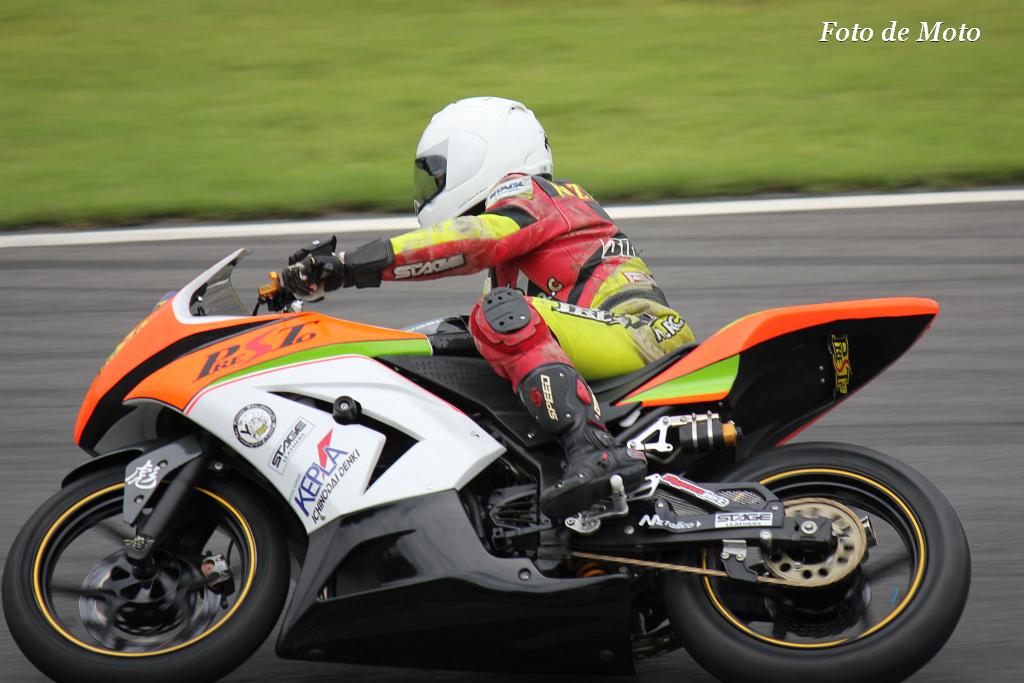 ST250 #58 プレスト M.R.C  森田 和利 Kawasaki Ninja250R