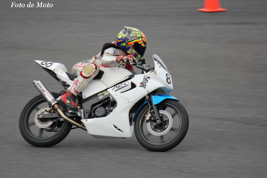 レディース #86 ☆ARC Racing+PTA 菅原貴子 CBR150R