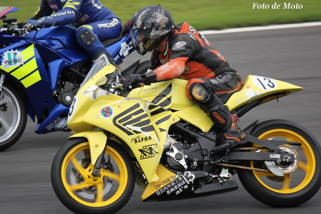 ST250 #13 マドカ設計+モトα+チクビーズ  吉沢 範密 Honda CBR250R