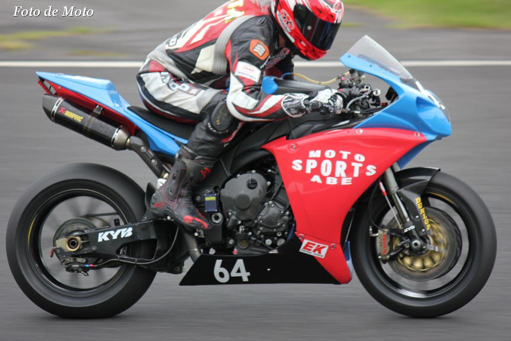 #64 TEAM モトスポーツ 福山 京太 奥田 貴哉 吉道 竜也 Yamaha YZF-R1