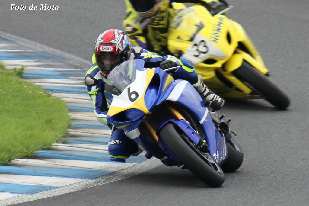 スーパープロダクション #6 MaKao Racing 福井 誠 Yamaha YZF-R1
