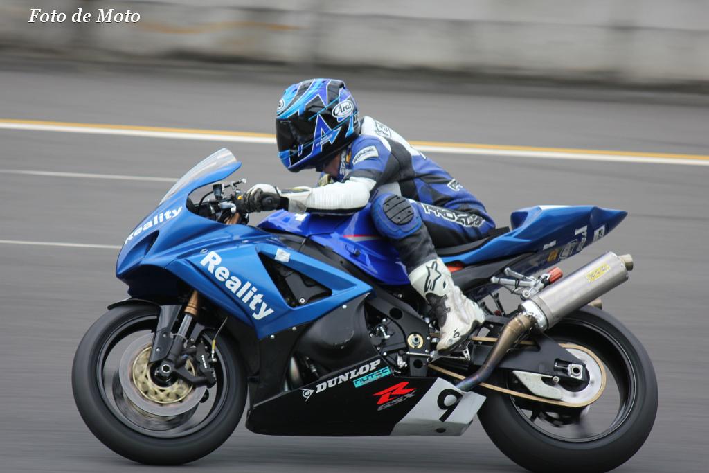 スーパープロダクション #9 Reality Racing 尾張 恵介 Suzuki GSX-R1000K7