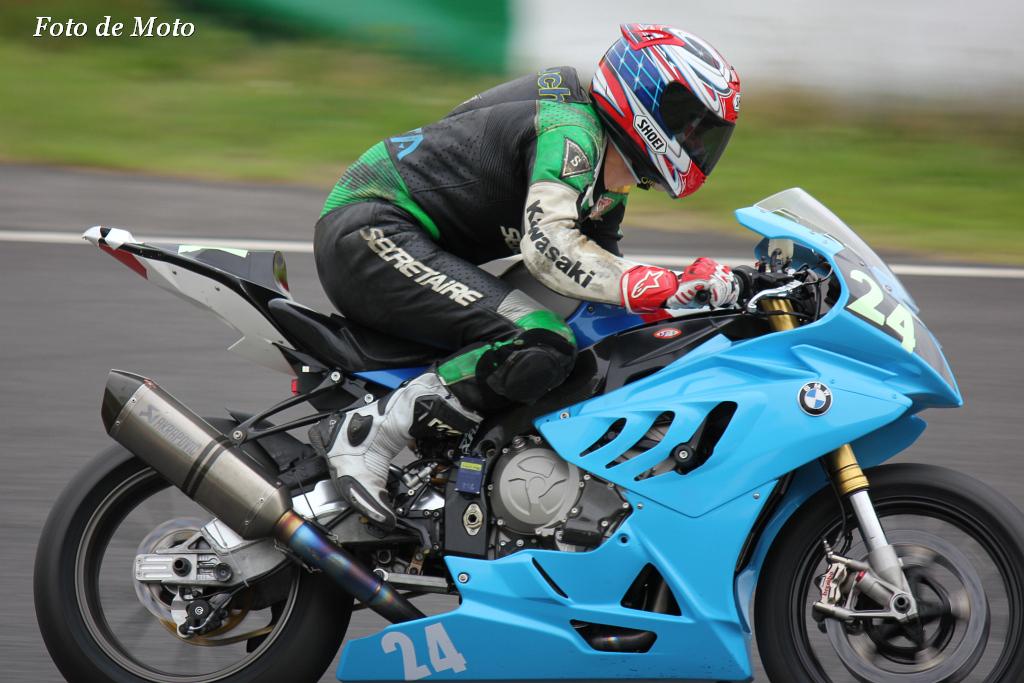 #24 チーム リトルウイング 宮崎 隆 山内 基晴 浅野 史久 BMW S1000RR