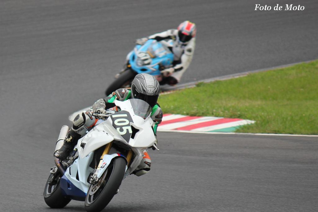 #105 Motorrad Toyota ナガサカ レーシング 野田 達也 中村 賢嗣 佐々木 幸二 BMW S1000RR