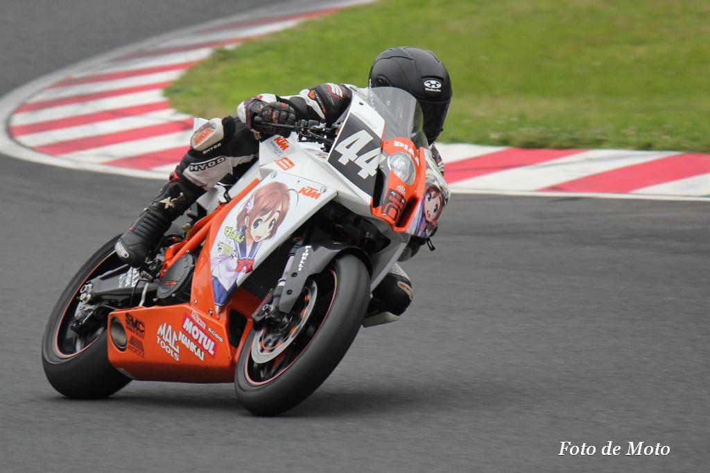 #44 KTM HAMAGUCHI BAKUON RACING 藤島 翔太 大樂 達也 浜口 喜博 KTM RC8R