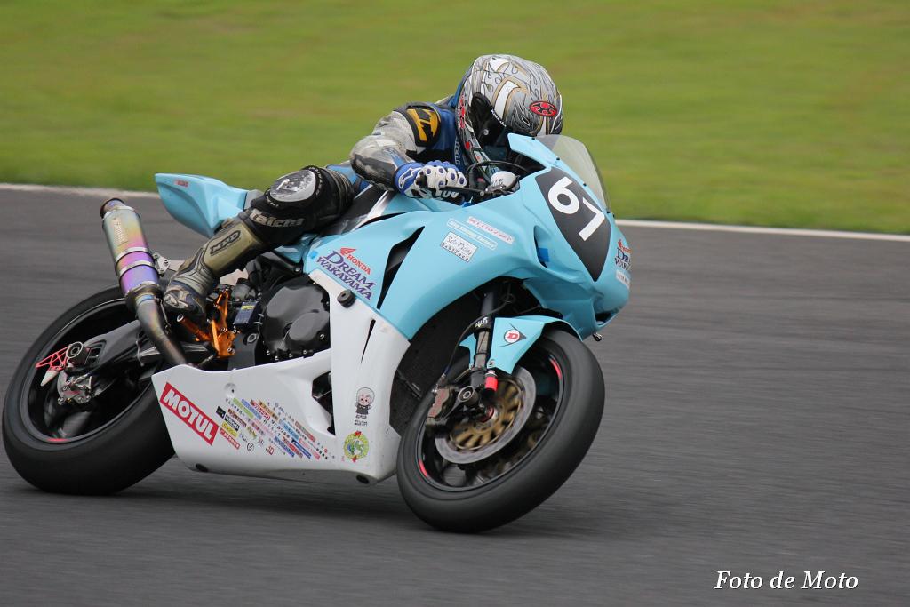 #67 Honda DREAM RT 和歌山 西中 綱 三木 章宏 権随 廉 Honda CBR1000RR