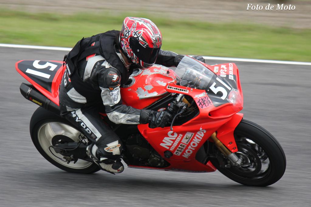#51 T・モトキッズ中日本 自動車短期大学・獺RT 樋口 幸博 小島 一晃 鷲見 洋分 Yamaha YZF-R1