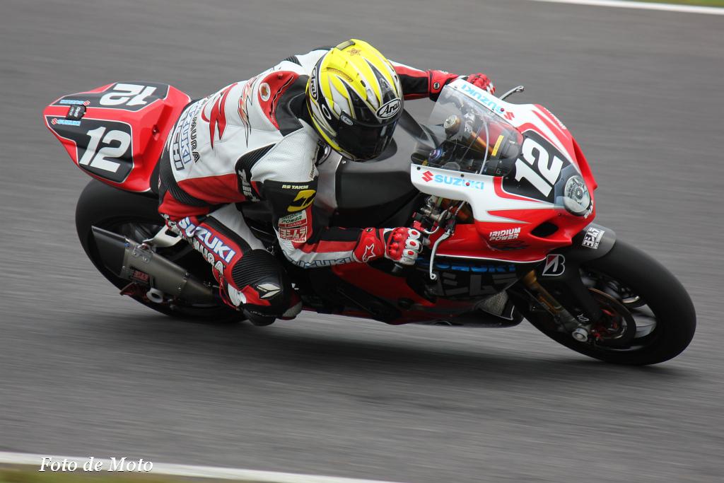 #12 ヨシムラスズキ レーシングチーム 津田 拓也 青木 宣篤 Suzuki GSX-R1000