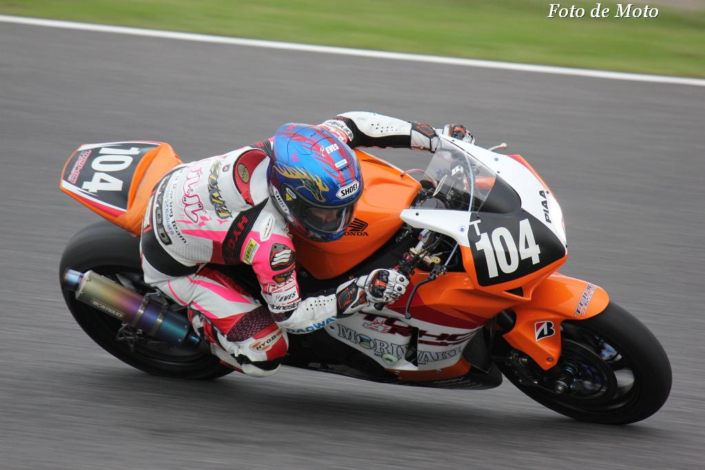 #104 山口 辰也 Yamaguchi Tatsuya  伊藤 真一 Ito Shinichi 渡辺一馬 Watanabe Kazuma TOHO Racing with MORIWAKI Honda CBR1000RR