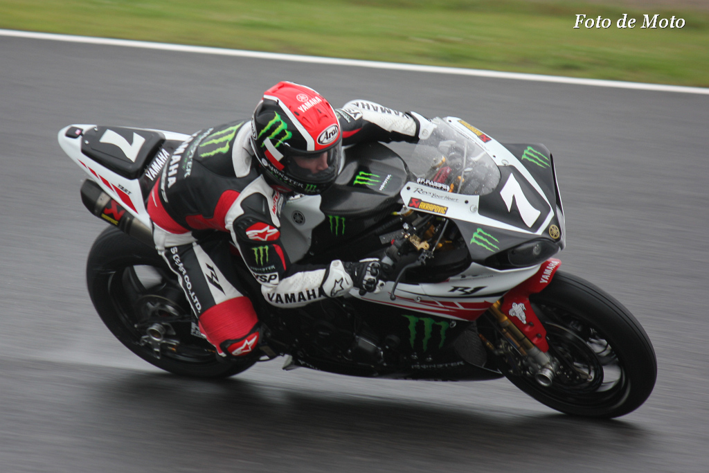 #7 MONSTER ENERGY YAMAHA -YART 中須賀 克行 Nakasuga Katsuyuki Broc PARKER Joshua WATERS Yamaha YZF-R1