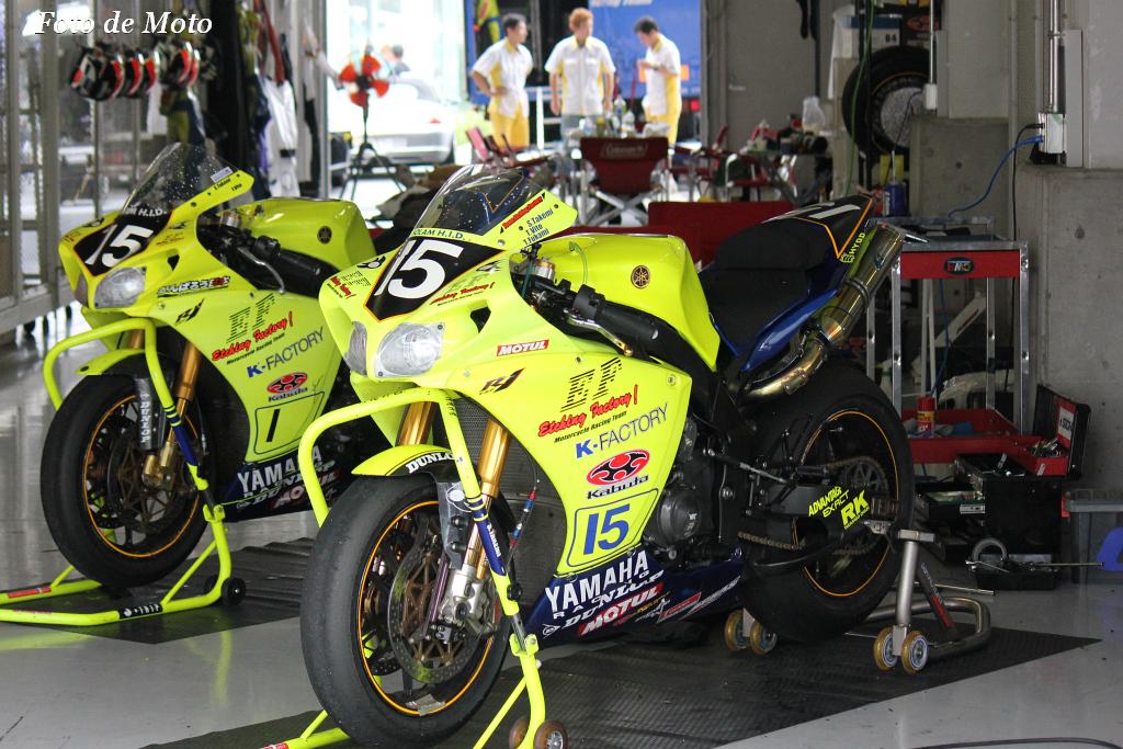 #15 チーム・エッチングファクトリー 中岡 光輝 林 正大 深見 貴広 Yamaha YZF-R1