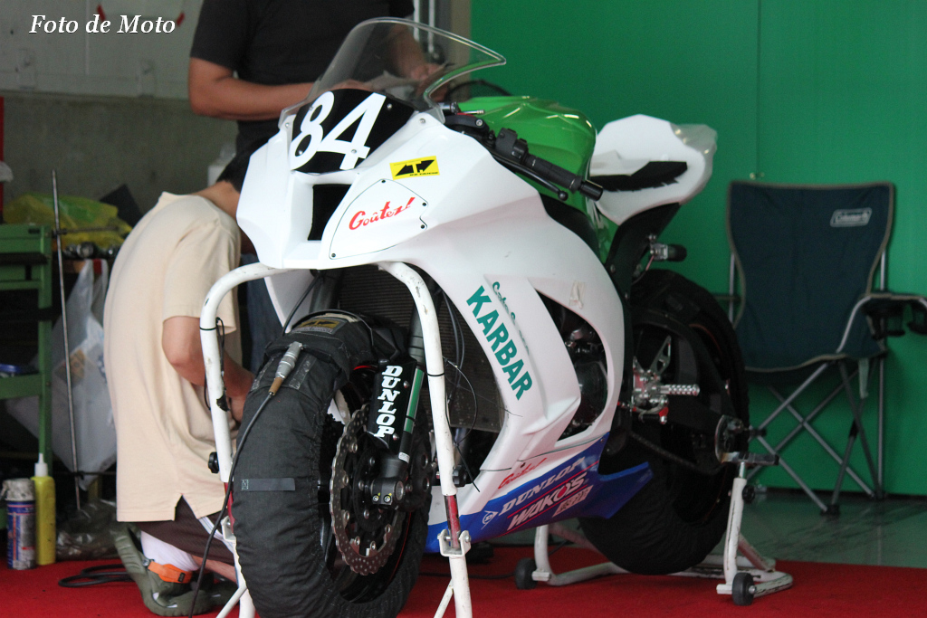 #84 Team KARBAR Cafe with Club Bali Racing 河原林 猛 中島 洋一 森本 潤一 カワサキ ZX-10R
